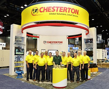 Chesterton Fluid Power Equipment Trade Show Exhibits